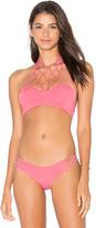 San Lorenzo High Neck Bikini Top