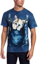 The Mountain Men's Kitty Overalls Shirt