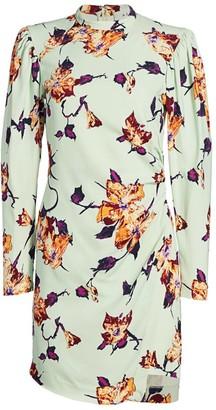 A.L.C. Jane Floral Mini Dress