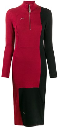 A-Cold-Wall* Divide two-tone dress