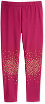 Epic Threads Little Girls' Mix and Match Star Splatter Leggings, Only at Macy's