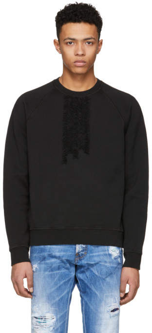 DSQUARED2 Black 50s Prom Sweatshirt
