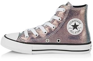 Converse Little Girl's Chuck Taylor All Star High-Top Glitter Sneakers