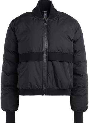 Stella McCartney Adidas Bomber By Stella Mc Cartney Black With Logoed Front Zip