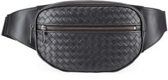 Bottega Veneta Men's Intrecciato Leather Belt Bag