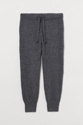 H&M H&M+ Wool-blend Joggers - Gray