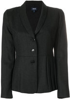 Armani Jeans pleated hem jacket