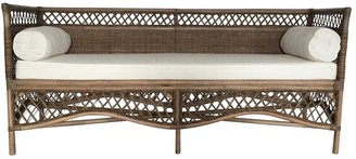 One World Rattan Day Bed/sofa With Bolsters