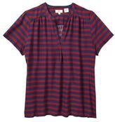 Levi's Women's Striped V-Notch T-Shirt