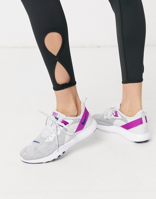 Nike Training Flex trainers in grey