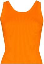 MATÉRIEL Ribbed Knit Tank Top