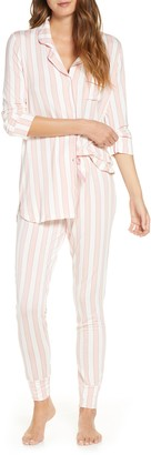 Rachel Parcell Long Sleeve Print Pajamas
