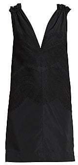 Givenchy Women's Lace & Ruffle-Trim Dress