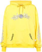 Rochambeau dragon print hoodie