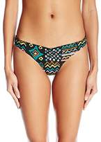 Volcom Women's Tribal Instinct Reversible V Fit Bikini Top