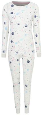 George Grey Planet Print Long Sleeve Pyjamas