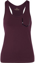 Monreal London Essential Stretch-jersey Tank - Burgundy