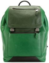 Coach buckled backpack