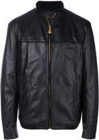 Billionaire ribbed trim jacket