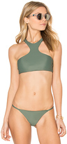 Issa de' mar Sola Bikini Top in Green. - size L (also in )