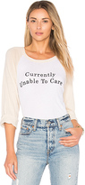 Wildfox Couture Unable To Care Tee