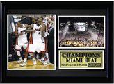 Miami Heat Dynamic Duo Photo Stat Frame