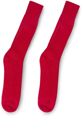 Heating & Plumbing London Alpaca Walking Socks - Rustic Red