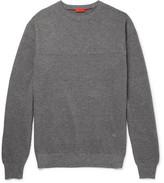 Isaia Mélange Cotton Sweater
