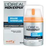 L'Oreal Men Expert Erase Wrinkles Moisturiser 50 mL