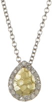 Meira T Yellow Gold Pendant Necklace