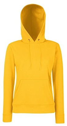 Fruit of the Loom Classic 80/20 Lady-Fit Hooded Sweatshirt - Sunflower - 2XL