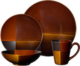 JCPenney Gibson Elite Convergence 16-pc. Color Block Dinnerware Set