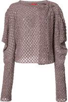 Vivienne Westwood wrap cardigan - women - Cotton/Linen/Flax/Polyamide - S