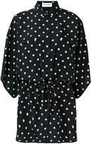 Saint Laurent classic polka-dot blouse
