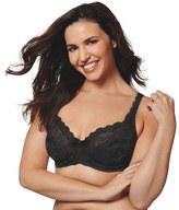 Playtex Plus Size Bras: Love My Curves Beautiful Lace & Lift Full-Figure Underwire Bra US4825
