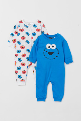 H&M 2-Pack All-In-One Pyjamas