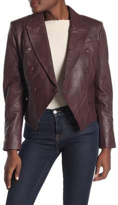 Bagatelle Fitted Lamb Leather Jacket