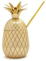 W&P Design Large Pineapple Tumbler with Straw