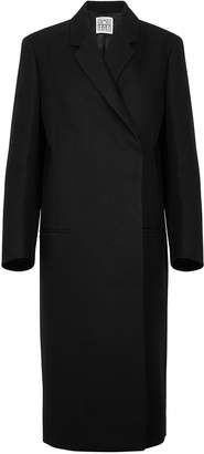 Totême Volterra Black Twill Coat