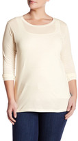 Susina Soft Crew Long Sleeve Tee (Plus Size)