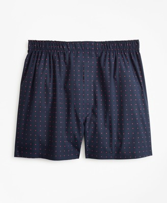 Brooks Brothers Traditional Fit Polka Dot Boxers