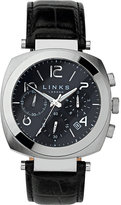 Links Of London Brompton Leather Strap Chronograph Watch