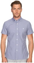 Todd Snyder Short Sleeve Mini Check Button Up