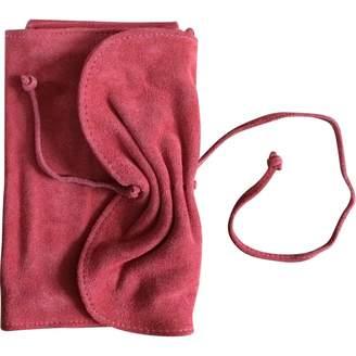 Vanessa Bruno \N Orange Suede Clutch bags