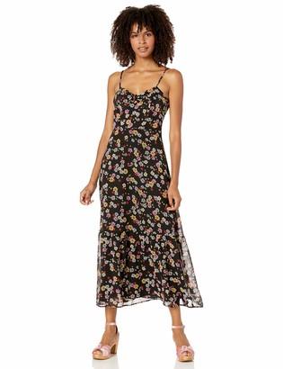 BB Dakota Junior's Daisy Bell Printed Crepe Dress