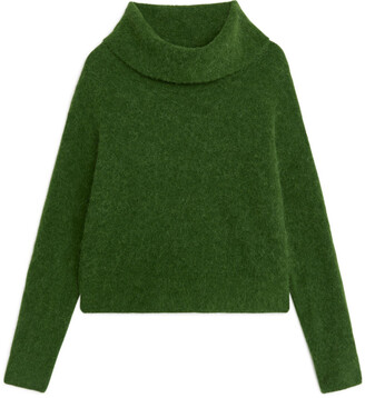 Arket Cropped Roll-Neck Jumper