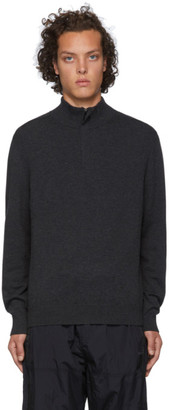 BOSS Grey Wool Bacelli Sweater