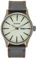 Nixon Sentry Watch Bronzecoloured/gunmetal