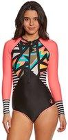 Body Glove Women's Urbania Surface L/S One Piece Swimsuit 8151435