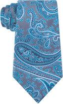 Geoffrey Beene Men's Platinum Paisley II Tie